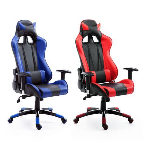 racing gaming chair ebay ergonomic gaming racing chair high back office executive