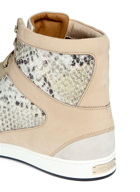 Leather Belt Python Brown Dot Leather jimmy choo tokyo holograph python print leather sneakers