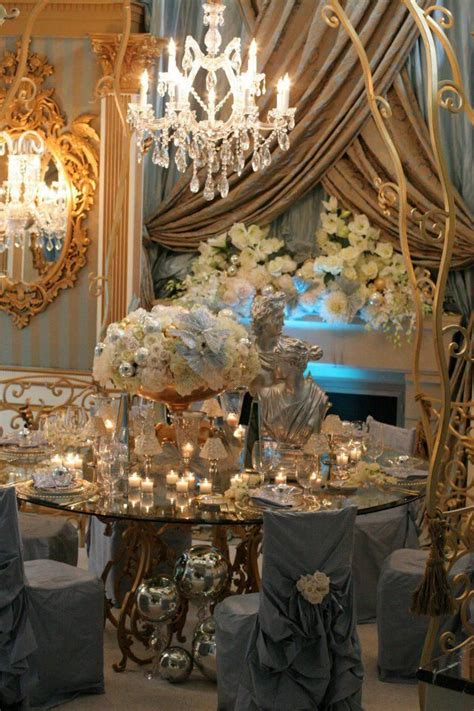 rococo home decor 187 best new year s eve table settings images on pinterest