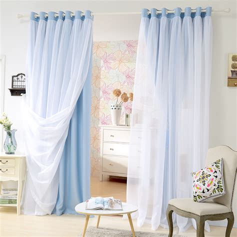 Shade Curtains For Living Room Aliexpress Buy Price For Layer Shade Curtain