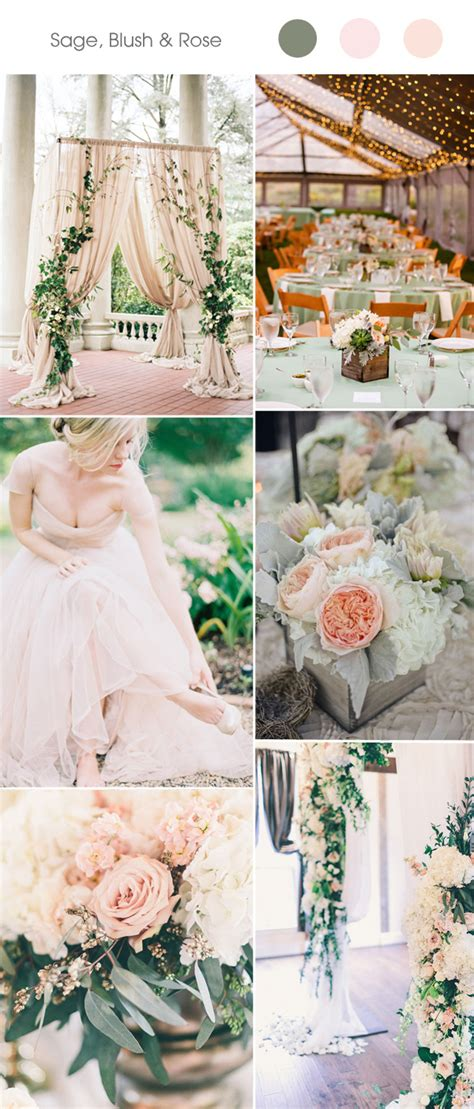 wedding colour themes spring and summer brides top 5 spring and summer wedding color ideas 2017