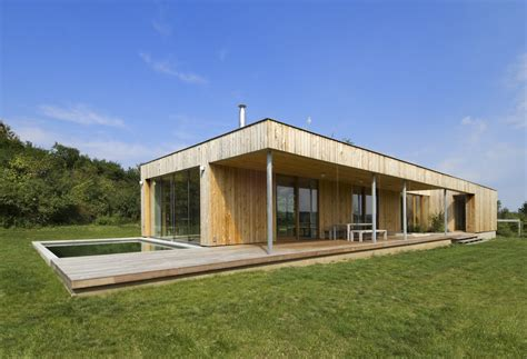 Floor Plans For 1 Story Homes Gallery Of Weekend House In Buš Mark 233 Ta Cajthamlov 225 1