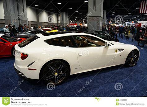 ferrari hatchback coupe white ferrari ff hatchback editorial image cartoondealer