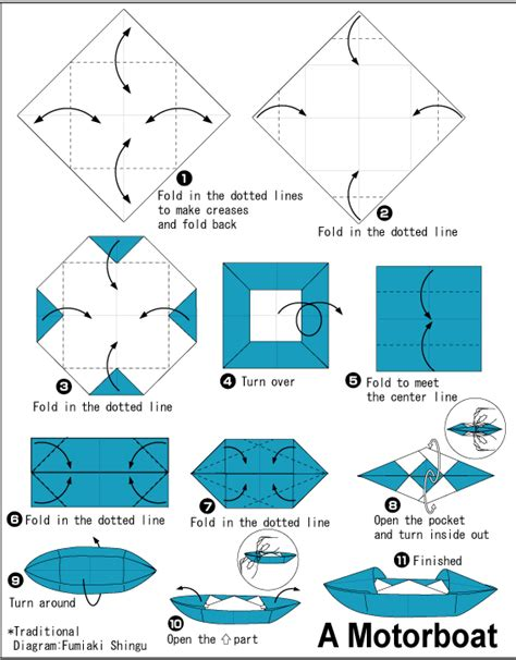 How To Make Different Types Of Paper Boats - origami canoe type boat origami origami