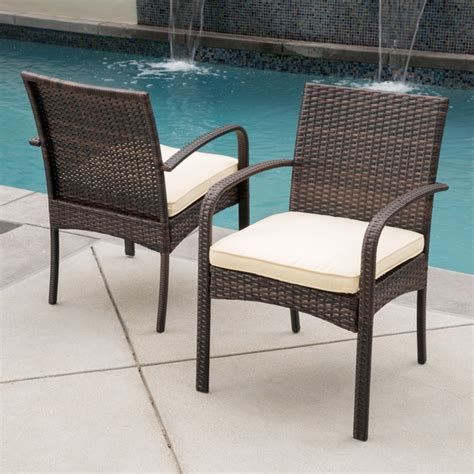 outdoor patio dining chairs patio wicker dining chairs set outdoor deck seating lounge