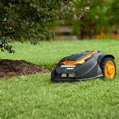 lawn care gadgets worx landroid robot lawn mower see it in action here http