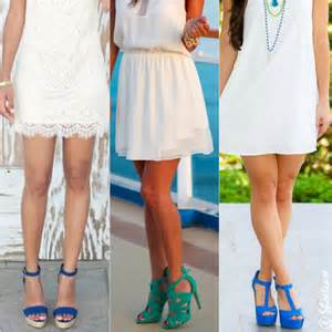 what color shoes with white dress shoes to wear with white dress