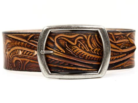Handcrafted Western Belts - handmade custom leather belts for and crafted by