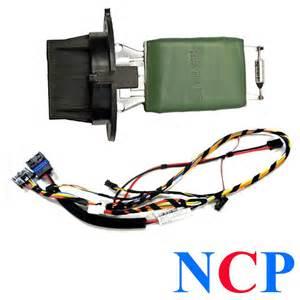 peugeot 307 wiring loom harness heater blower motor resistor 6445kl 6450jp ebay