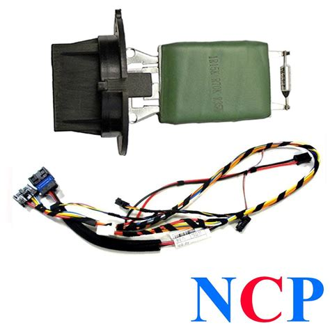 how to test a heater blower resistor peugeot 307 wiring loom harness heater blower motor resistor 6445kl 6450jp ebay