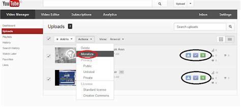 adsense untuk youtube cara daftar google adsense melalui youtube belajar bersama