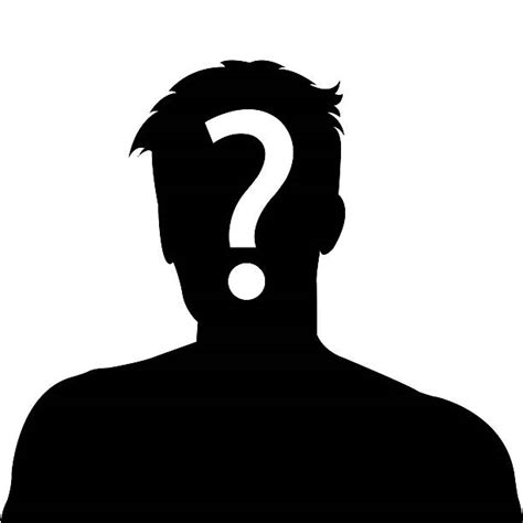 big question how can one person s view of the world royalty free question mark people one person silhouette