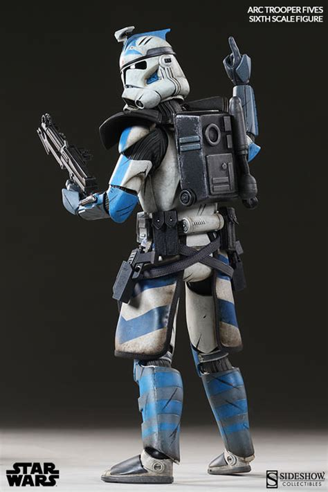 arc clone trooper fives phase ii armor plastic and plush