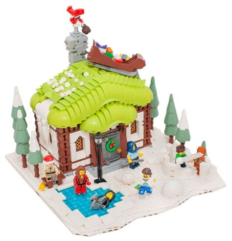 lego winter cottage 105 best images about lego winter kerst on