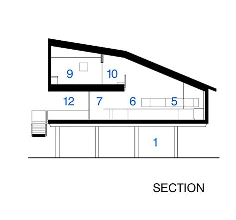 cea section gallery of seagrape house traction architecture 26