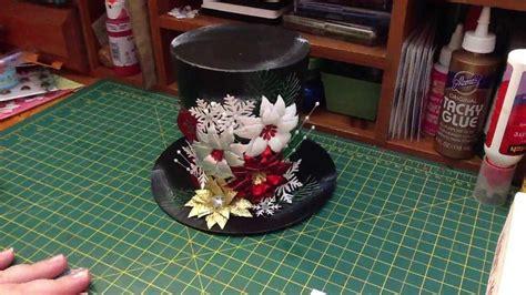How To Make A Snowman Hat Out Of Construction Paper - diemond dies dt project snowman hat 2