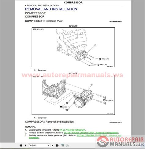 Nissan Altima 2016 Factory Service Manual Auto Repair