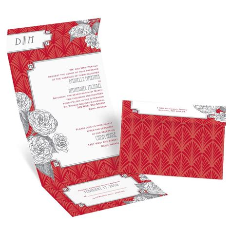 Seal And Send Wedding Invitations by Forever Vintage Seal And Send Invitation Invitations By