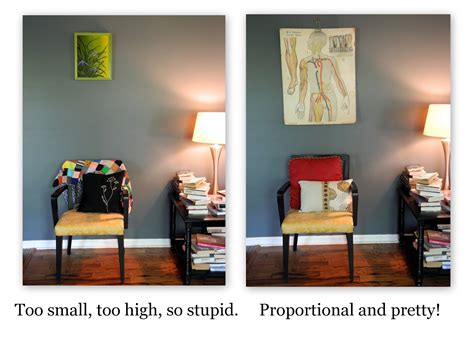 proportion in interior design librarian tells all don t hang that on your wall or considering scale and proportion when