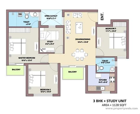 floor plan com bptp park elite premium sector 84 faridabad apartment