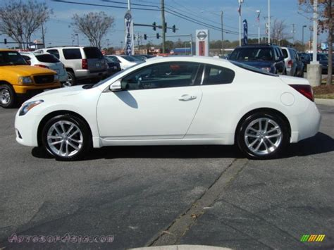 nissan coupe 2011 2011 nissan altima 3 5 sr coupe in winter white