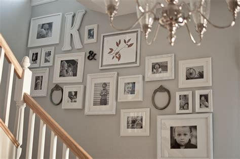 ideas for displaying photos on wall photo display ideas staircase photo galleries