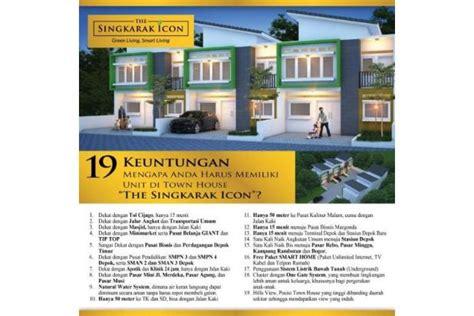 10 Menit Menuju Sehat Hembing rumah dijual green living the singkarak icon 10 menit menuju pintu
