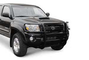 Brush Guard Toyota Tacoma Aries 174 2054 Toyota Tacoma 2005 2009 One Black