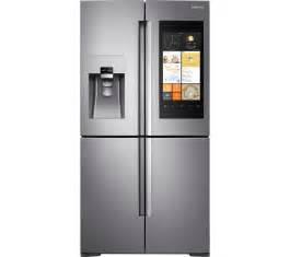 French Door Fridge With Ice And Water Dispenser - buy samsung family hub rf56k9540sr american style smart fridge freezer stainless steel free