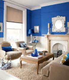 Blue Paint In The Living Room Modern Decorating Colors For Fall And Winter Wall