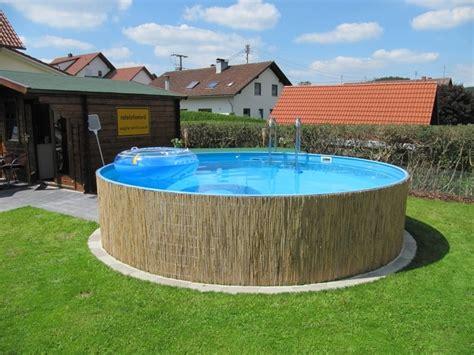 Pool Verkleidung Bauen by Pool Intex Verkleiden Draussen