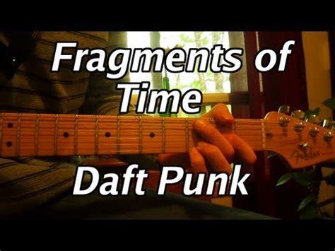 daft punk chord daft punk fragments of time guitar lesson chords