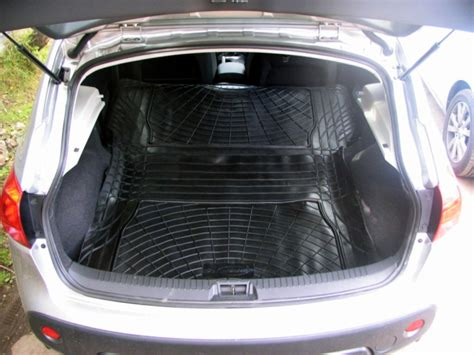rubber boot liner for nissan qashqai nissan qashqai rubber boot mat liner and cargo area mat