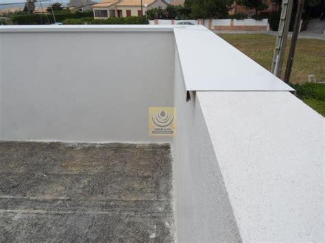 Alu überdachung Terrasse by Pose De Couvertine Alu Var Sur Muret D Un Coutour De