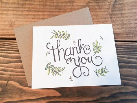 thank you card designs 17 best ideas about thank you card design on pinterest