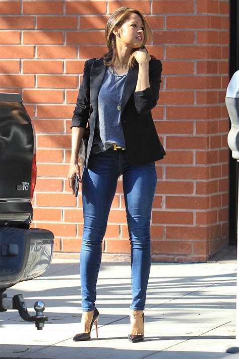 clueless star stacey dash shopping  beverly hills