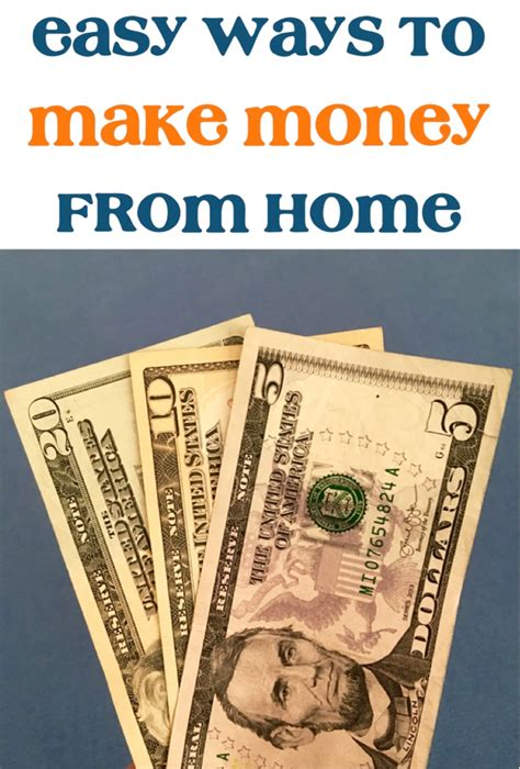 easy ways to make money from home 19 easy ways to make