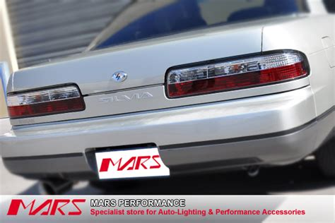 s13 clear tail lights jdm clear red non led tail lights for nissan silvia s13