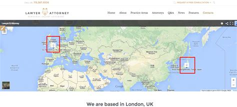 google themes location how to change the google map in the contact us page