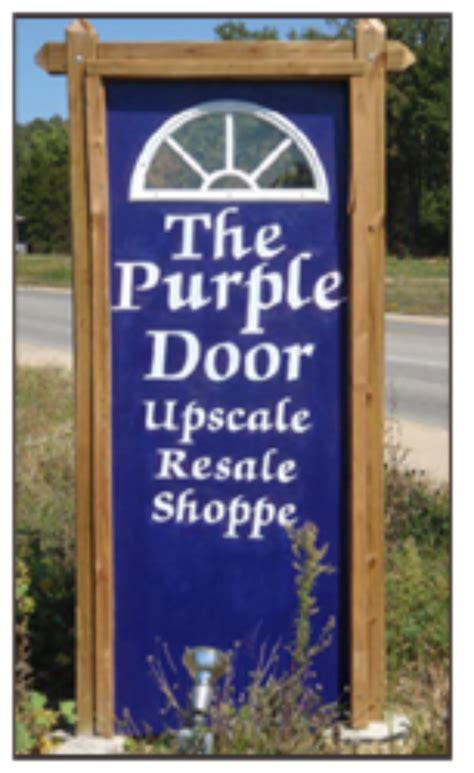 The Purple Door Store the purple door serenity domestic violence shelter mountain home ar
