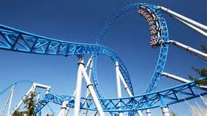 blue fire Megacoaster powered by GAZPROM at Europa Park