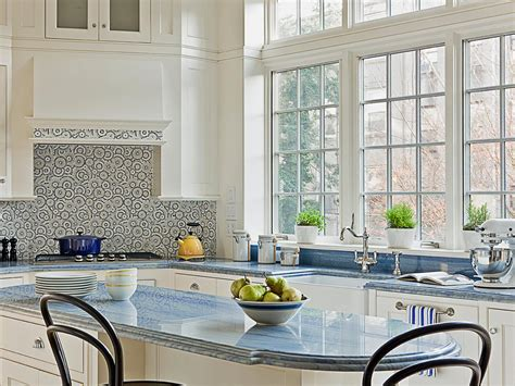blue kitchen countertops 10 high end kitchen countertop choices kitchen ideas