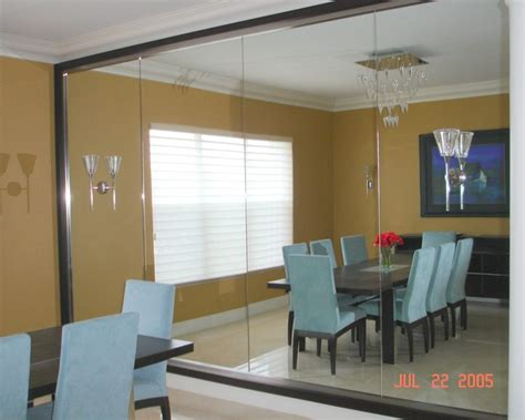 contemporary mirrors for dining room modern mirrors modern dining room miami by cmf custom mirrors