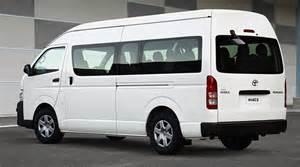 Toyota hiace minibus schools special driveline fleet