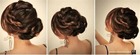 how to make bun hairstyle at home hairstyles