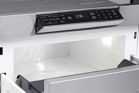 24 inch under microwave review sharp smd2470as built in microwave
