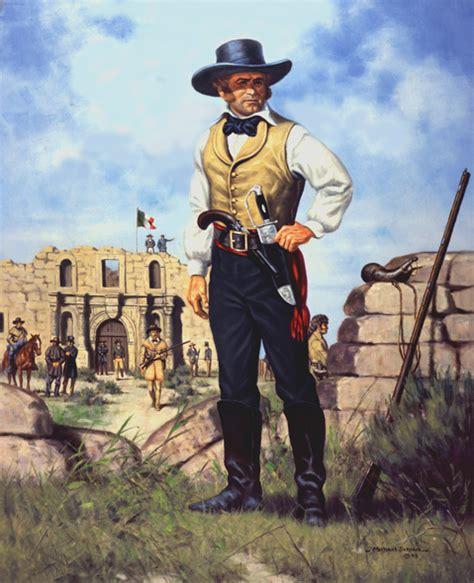 the battle of the alamo 1836 texas revolution jim bowie