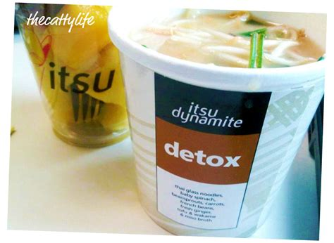 Itsu Detox Soup all this lunchtweeting is me hungry thecattylife