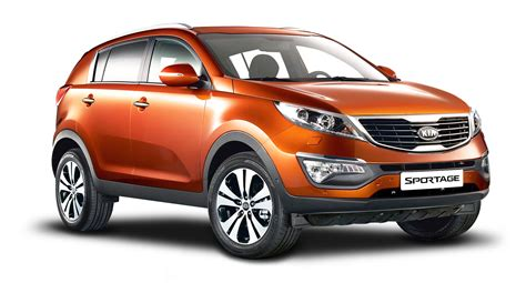 Kia Sportage Commercial Vehicle Kia Sportage 3 Orange Car Png Image Pngpix