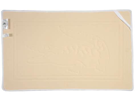 lacoste bath rug lacoste memory foam bath rug white shipped free at zappos